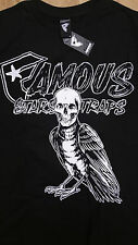 Famous Stars And Straps/ Bird with human skull/ Men's T-shirt/ Size S - 311