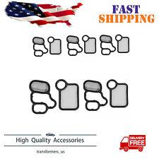 5PCS 15815-RAA-A01 15845-RAA-001 VTEC Solenoid Gasket VTC Filter Fit For Honda