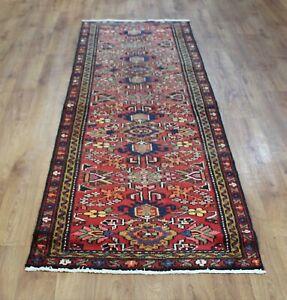 Traditional Vintage Wool Handmade Classic Oriental Areas Rug Carpet 285 X89 cm
