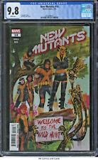 New Mutants #14 2021 CGC 9.8 - Vita Ayala story, Rod Reis cover & art