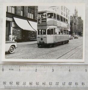 Photo Glasgow Tram no.1285 in 1962