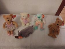 Ty beanie baby lot of 5