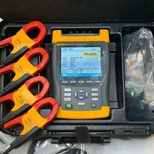 Fluke 434 3 Phase Power Quality Analyzer Logger w/ 6 Options