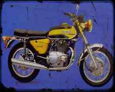 Benelli 650 Tornado S A4 Metal Sign Motorbike Vintage Aged