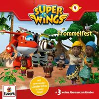 SUPER WINGS - 004/TROMMELFEST   CD NEW