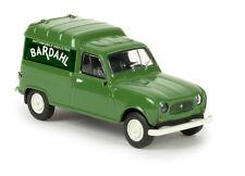 """Brekina H0 1/87 14742 Renault R4  Fourgonnette """"Bardahl"""" (F) OVP NEU"""