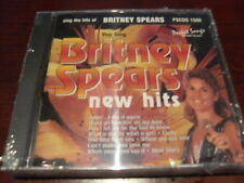 POCKET SONGS KARAOKE DISC PSCDG 1500 BRITNEY SPEARS CD+G SEALED MULTIPLEX