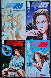 """ESPERS vol.3  issue 1 to 4 """"Black Magic"""" Full Run VF/NM (9.2) 1997 Image Comics"""