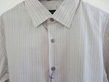 Camicie classiche da uomo grigie in cotone