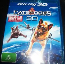 Cats & Dogs Revenge Of Kitty Galore (Australia Region B) 3D / 2D Bluray – New