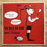 Willmar Elementary Boys Chorus Vinyl LP Midwest Records XCTV 90950