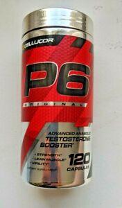 Cellucor P6 Original Testosterone Booster - 120 Caps. Expiration 02/23.Free Ship
