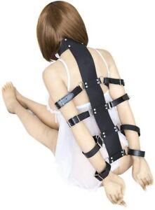 Leder Arm Gürtel Halsband ....... DE Verkäufer Bondage Fesseln BDSM sexspielzeug