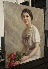 Giuseppe DUODO (1877-1955) Bildnis einer jungen Dame.