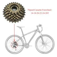 Brand New 6/7 Speed Bicycle Bike Freewheel Multiple Freewheel 14-28T Steel G8P8
