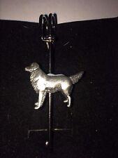 """Golden Retriver DR52 Bufanda, broche y Kilt Pin estaño 3"""" 7.5 Cm"""