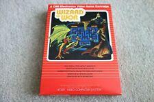 1980's ATARI 2600 PAL GAME - WIZARD OF WOR - EX SHOP STOCK & UNUSED