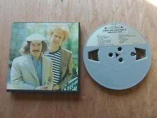 "Simon & Garfunkel Greatest Hits 7"" x1/4"" 3 3/4 Ips Reel to Reel Tape origin box"
