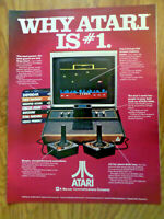 1982 ATARI Games Ad  Why Atari is #1