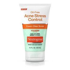 Neutrogena Power-clear Scrub Oil- Acne Stress Control 4.2 Oz