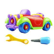 Christmas Gift Kids Child Baby Boy Disassembly Assembly Classic Car Toy Hot Sale