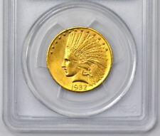 10 Dollars GOLD USA 1932 Indian Head Eagle PCGS MS63