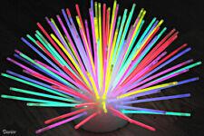 """8"""" Glow Sticks Premium Bracelets Necklaces Christmas Party Disco Neon Colours"""