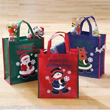 3 x Weihnachtstaschen Geschenktaschen Geschenkbeutel Verpackung Weihnachten