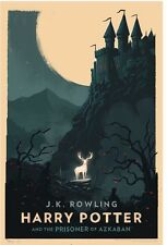 Harry Potter And The Prison Of Azkaban Olly Moss Art Print Poster Rowling