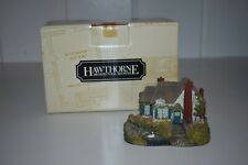 Thomas Kinkade Swanbrooke Cottage Figurine Sculpture Hawthorne Village Box