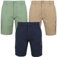 Tokyo Laundry Men's Kordi Cargo Shorts Chino Combat Multi-Pocket Size S - XXL