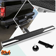 "35""x 4"" Oval 2"" Receiver Stainless Steel Trailer Towing Tailgate Hitch Step Bar"