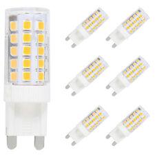 6X G9 LED Lampe Leuchtmittel,5W Ersatz für 40W Halogen Lampen Warmweiß 3000K