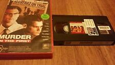 MURDER IN THE FIRST - CHRISTIAN SLATER, KEVIN BACON - VHS VIDEO TAPE