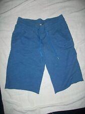 Nike Women Sportswear Athletic Pants Baby Sky Blue Size 6-8