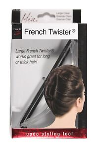 Mia French Twister, Updo Styling Tool, French Twist Bun Maker, Large Size