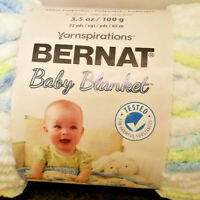 3 Yarnspirations Bernat Baby Yarn in FUNNYPRINTS#6 Super Bulky GOOD for Blankets