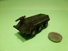 SIKU 0871 ARMOURED CAR PANZER WAGEN - ARMY GREEN 1:70? - MILITARY - GOOD