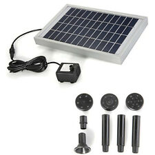 Solar Energy Water Pump Panel for Fountain Pond 12V 380L / H ED