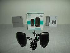Logitech S120 Multimedia 2-Piece Speakers 2.6W w/3.5mm Headphone Jack 980-000309