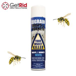 Strong Wasp Hornet Nest Destroyer Killer Kills Wasps Hornets Moths Flies Aerosol