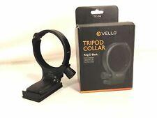 Vello TC-DB Black Tripod Collar Ring D For Canon 100mm F 2.8 L Macro Lens