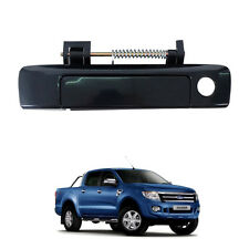 Fit 2012+ Ford Ranger T6 Tailgate Door Handle Black Shine 1 Keyhold Rear Px Xlt