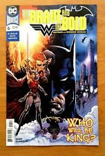 Brave and the Bold Batman and Wonder Woman 6 Cover A 1st Print DC 2018 NM+