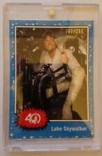 Star Wars Celebration 2017 Topps LUKE SKYWALKER 40th 1977 Exclusive Card 102/200