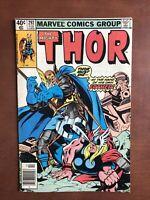 Thor #292 (1980) 7.5 VF Marvel Bronze Age Comic Book Newsstand Edition Odin