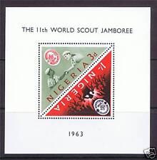 Nigeria 1963 Scout Jamboree SG MS 134a MNH