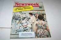 JULY 30 1962 NEWSWEEK magazine U.S. CONSUMER