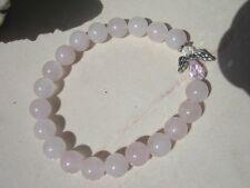 Rose Quartz Bracelet Connected to Chamuel Unconditional Love Angel Communication