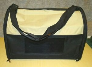 """Worldwise Collapsible Pet Carrier Canvas Mesh 16.5"""" l x 12.5"""" w x 12"""" h not used"""